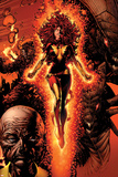 X-Men: Legacy No211 Cover: Dark Phoenix  Brood  Nova and Cassandra