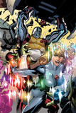Secret Invasion: X-Men No3 Cover: Colossus and Dazzler