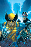 X-Men No159 Cover: Wolverine and Havok