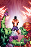 She-Hulks No3 Cover: She-Hulk  Lyra  and Klaw