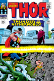 Marvel Comics Retro: The Mighty Thor Comic Book Cover No130  Thunder in the Netherworld  Hercules