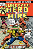 Marvel Comics Retro: Luke Cage  Hero for Hire Comic Book Cover No14  Fighting Big Ben