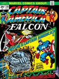 Marvel Comics Retro: Captain America Comic Book Cover No178  with the Falcon