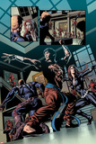 Secret Avengers No6: Shang-Chi and Black Widow Posing