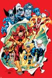 Uncanny X-Men No392 Group: Phoenix