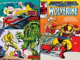 Marvel Comics Presents No5 Cover: Wolverine  Inquisitor  Marvel Comics and Thor Charging