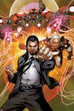 Invincible Iron Man No511 Cover: Mandarin Posing