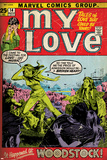 Marvel Comics Retro: My Love Comic Book Cover No14  Woodstock (aged)