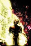 Captain America: Hail Hydra No4 Cover: Captain America with His Shield