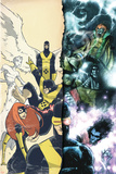 Uncanny X-Men: First Class Giant-Size Special No1 Cover: Cyclops