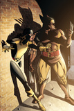 Wolverine: First Class No11 Cover: Wolverine and Shadowcat