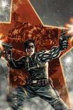 Winter Soldier No1 Cover with Captain America