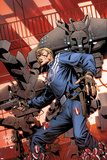 Steve Rogers: Super-Soldier No3 Cover: Captain America Standing
