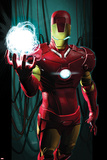 Ultimate Comics Ultimates No3 Cover: Iron Man with Energy