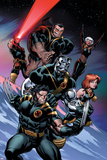 Ultimate X-Men No100 Cover: Wolverine  Colossus  Grey  Jean  Storm  Beast and Cyclops