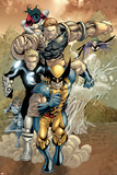 X-Men No163 Group: Wolverine  Havok  Juggernaut and X-Men