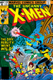 Uncanny X-Men No128 Cover: Wolverine  Colossus  Grey  Jean  Cyclops  Nightcrawler and X-Men