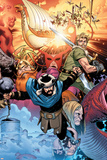 Thor: Tales of Asgard By Stan Lee & Jack Kirby No4 Cover: Hogun  Fandral and Volstagg