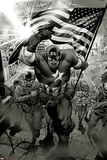 Captain America: Man out of Time No1: Captain America Charging