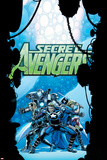 Secret Avengers No21 Cover: Steve Rogers  Sharon Carter  Valkyrie  Moon Knight  and Others