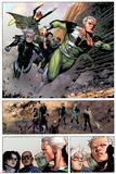 Avengers: The Childrens Crusade No4: Panels with Quicksilver and Speed