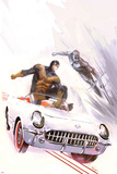 X-Men: First Class No4 Cover: Beast and Iceman