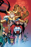 Thor: Tales of Asgard by Stan Lee & Jack Kirby No6 Cover: Sif and Odin