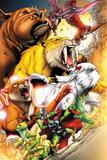 Avengers vs Pet Avengers No1: Throg  Zabu  Lockjaw  Lockheed  Redwing  Hairball  and Ms Lion