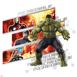 The Avengers: Age of Ultron - Incredible Hulk  Iron Man  Captain America  and Thor