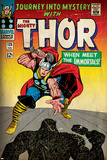 Marvel Comics Retro: The Mighty Thor Comic Book Cover No125  Journey into Mystery (aged)