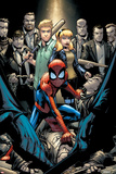 Marvel Adventures Spider-Man No12 Cover: Spider-Man Crouching