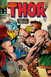Marvel Comics Retro: The Mighty Thor Comic Book Cover No126  Hercules (aged)