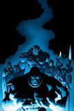 New Avengers 9 Cover: Thanos  Proxima Midnight  Corvus Glaive  Black Dwarf  Supergiant  Ebony Maw