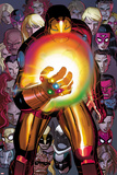 Avengers No12: Iron Man with the Infinity Gauntlet