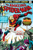 Marvel Comics Retro: The Amazing Spider-Man Comic Book Cover No153  The Deadliest Hundred Yards