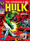 Marvel Comics Retro: The Incredible Hulk Comic Book Cover No108  with Nick Fury