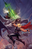 Thor: God of Thunder 13 Cover: Thor  Malekith
