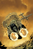 Gorilla Man No2 Cover: Gorilla Man Flying and Shooting