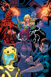 Avengers Academy No12: Striker  Veil  Hazmat  Finesse  Mettle  and Reptil