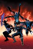 Uncanny Avengers 10 Cover: Sentry  Daken  Banshee  Grim Reaper