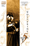 5 Ronin No1 Cover: Wolverine with a Sword