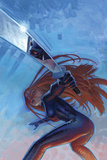 Shadowland: Daughters of the Shadow No3 Cover: Colleen Wing Posing