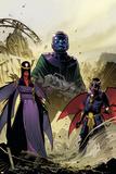 Uncanny Avengers 8Au Cover: Kang  Uriel  Eimin