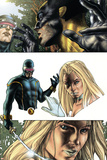 Wolverine No55 Headshot: Cyclops  Wolverine and Emma Frost