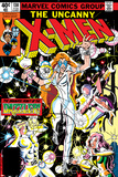 Uncanny X-Men No130 Cover: Dazzler  Cyclops  Grey and Jean