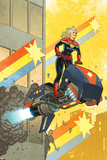 Captain Marvel 12 Cover: Captain Marvel
