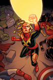 Avengers Assemble 17 Cover: Captain Marvel