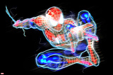 Spider-Man Neon Badge: Spider-Man Posing