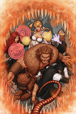 Thunderbolts No170 Cover: Troll  Mr Hyde  Moonstone  Satana  and Centurius