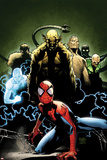 Ultimate Spider-Man No155 Cover: Spider-Man  Green Goblin  Sandman  Electro  and Vulture
